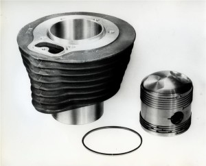 The liner-less aluminium cylinder block
